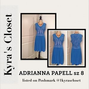 Adrianna Pappell dress sz 8